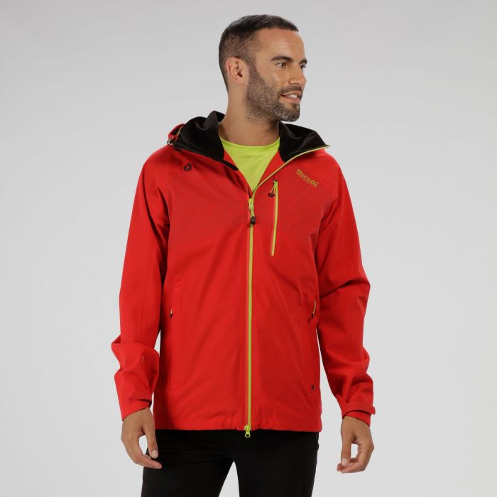 Oklahoma III Reflective Waterproof Jacket Pepper