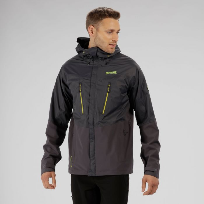 Cross Penine IV Hybrid Waterproof Jacket Seal Grey Iron