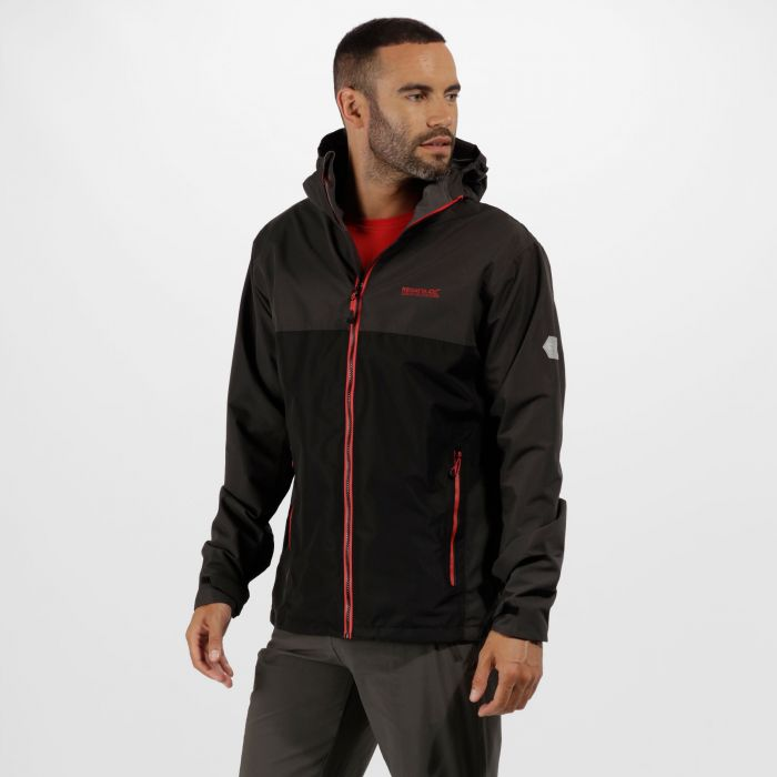 Semita II Waterproof Jacket Ash Black