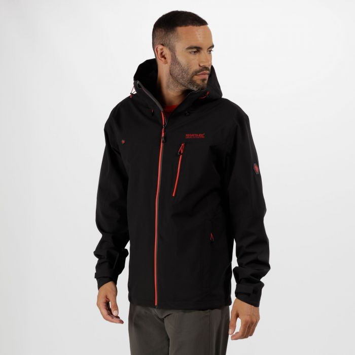 Men's Birchdale Waterproof Hooded Jacket Black