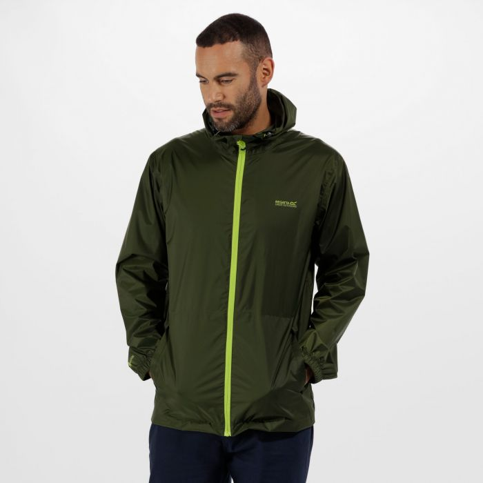Pack-It Jacket III Waterproof Packaway Racing Green
