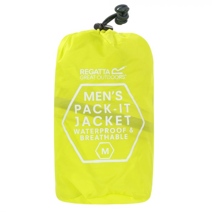 Pack-It Jacket III Waterproof Packaway Neon Spring