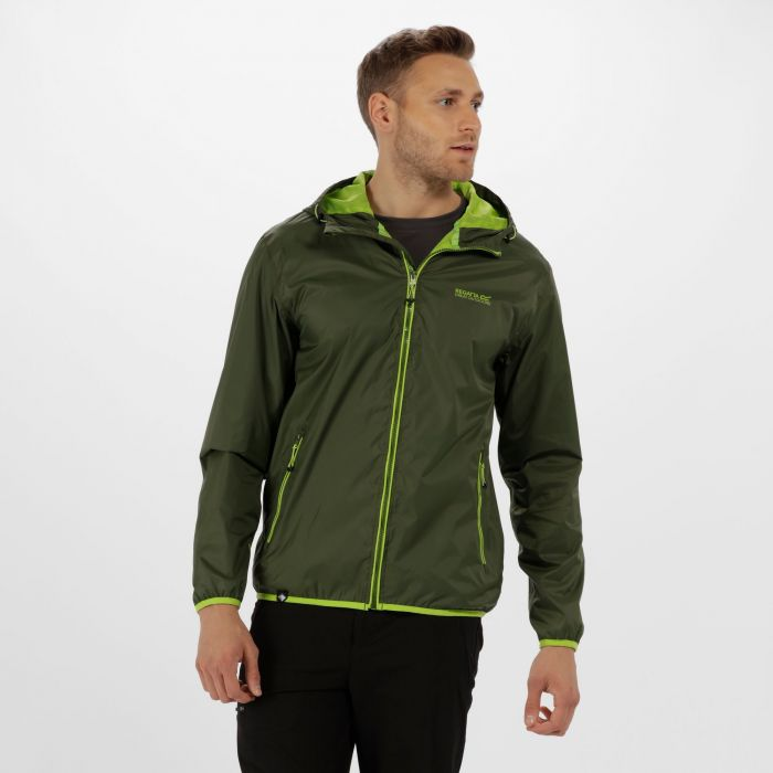 Dangelo II Lightweight Waterproof Jacket Racing Green