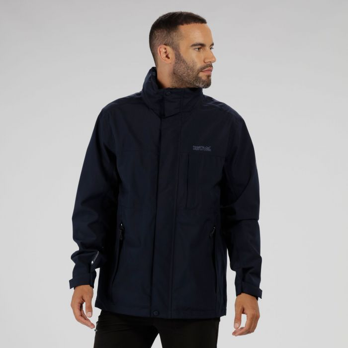 Northfield IV Waterproof Stretch Jacket with Concealed Hood Black