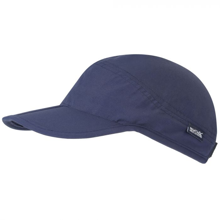 Folding Peak Clip Size Adjustment Strap Cap Navy