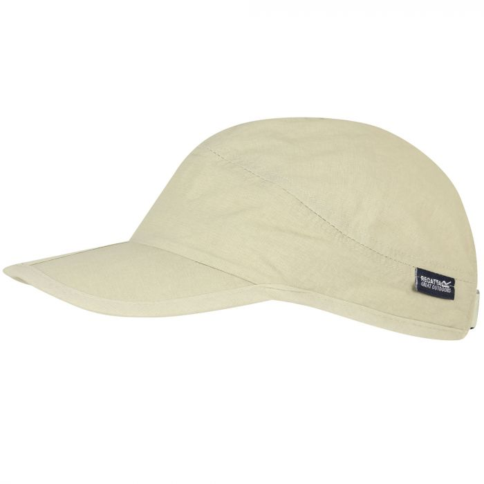 Folding Peak Clip Size Adjustment Strap Cap Warm Beige