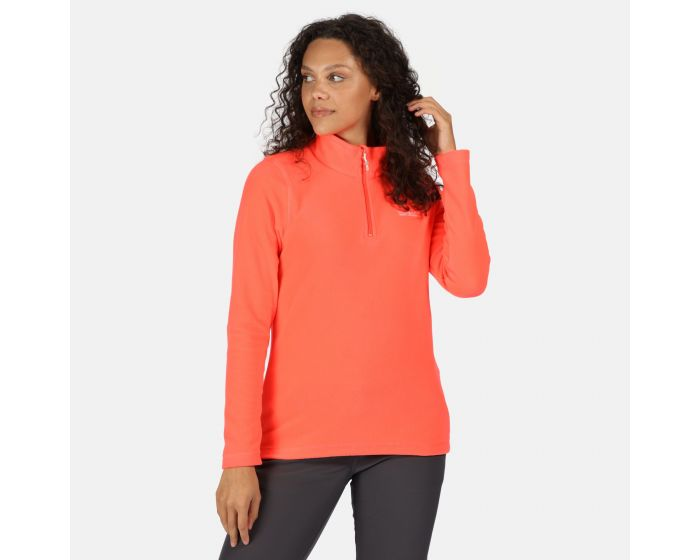 Womens Sweethart Lightweight Half-zip Fleece Fiery Coral
