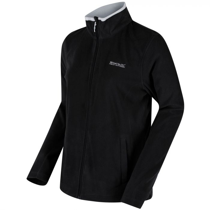 Clemance II Full Zip Fleece Black Light Steel