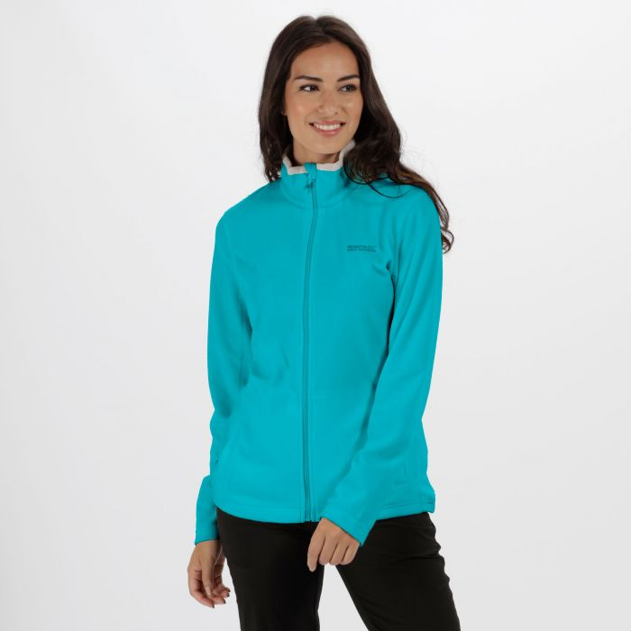 Clemance II Full Zip Fleece Aqua Light Steel
