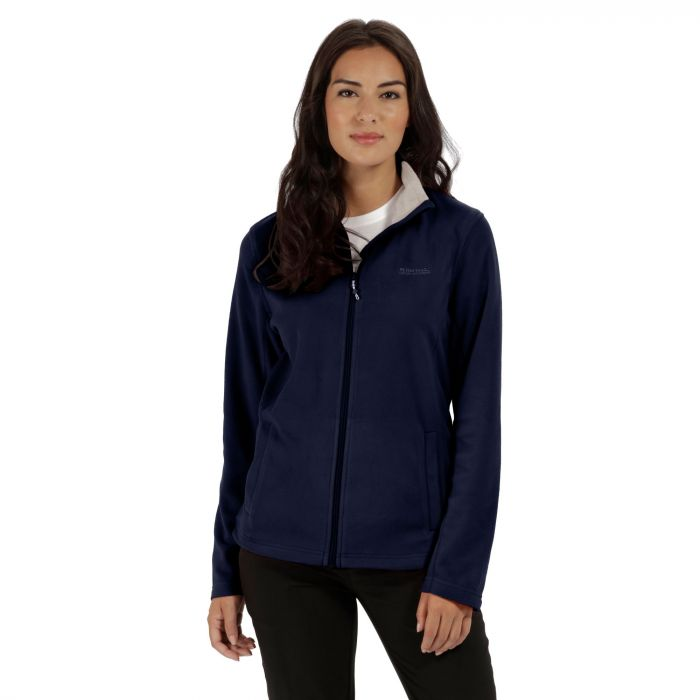 Clemance II Full Zip Fleece Navy Light Steel