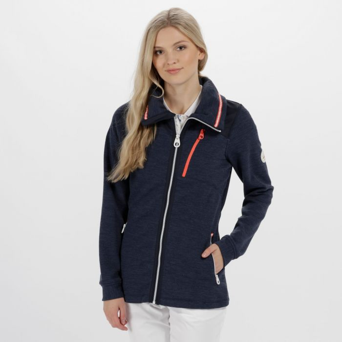 Cadwyn Mid Weight Full Zip Fleece Navy
