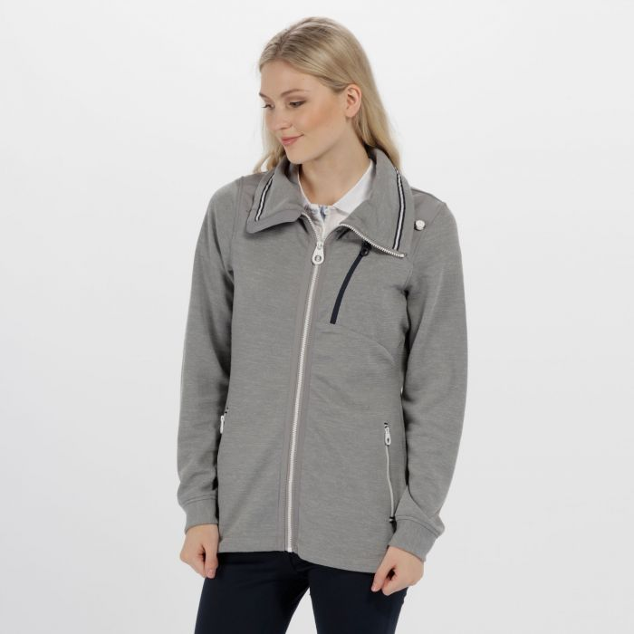 Cadwyn Mid Weight Full Zip Fleece Rock Grey