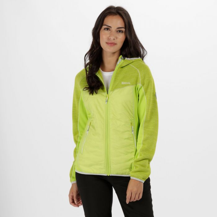 Women's Rocknell Hybrid Fleece Lime Zest