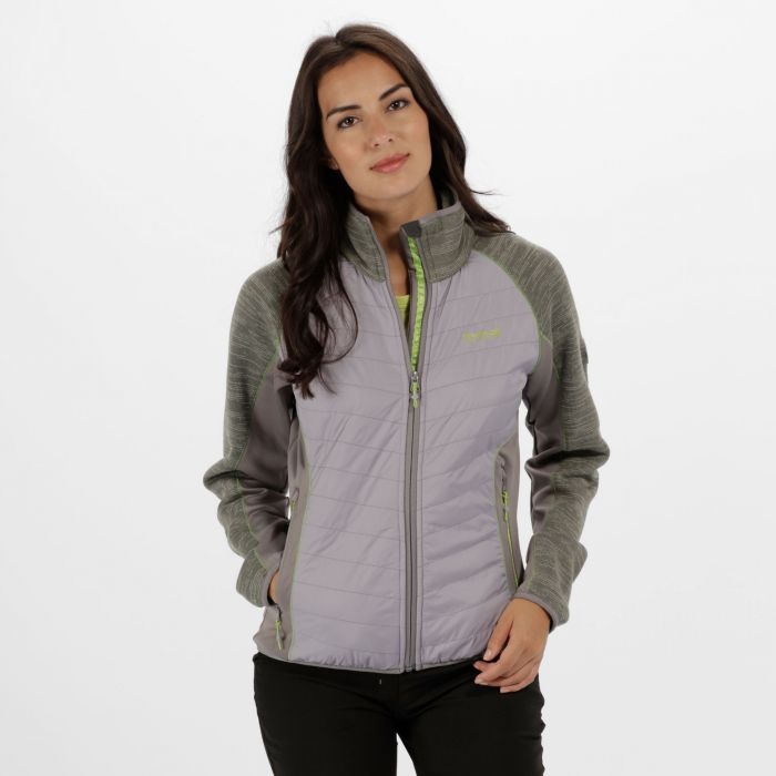Women's Robson Hybrid Fleece Rock Grey