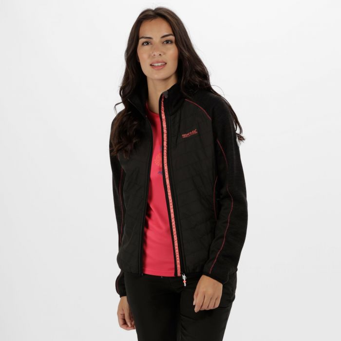 Women's Robson Hybrid Fleece Black