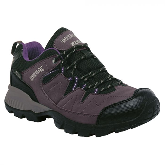 Women's Holcombe Low Walking Shoes Shark Blackberry