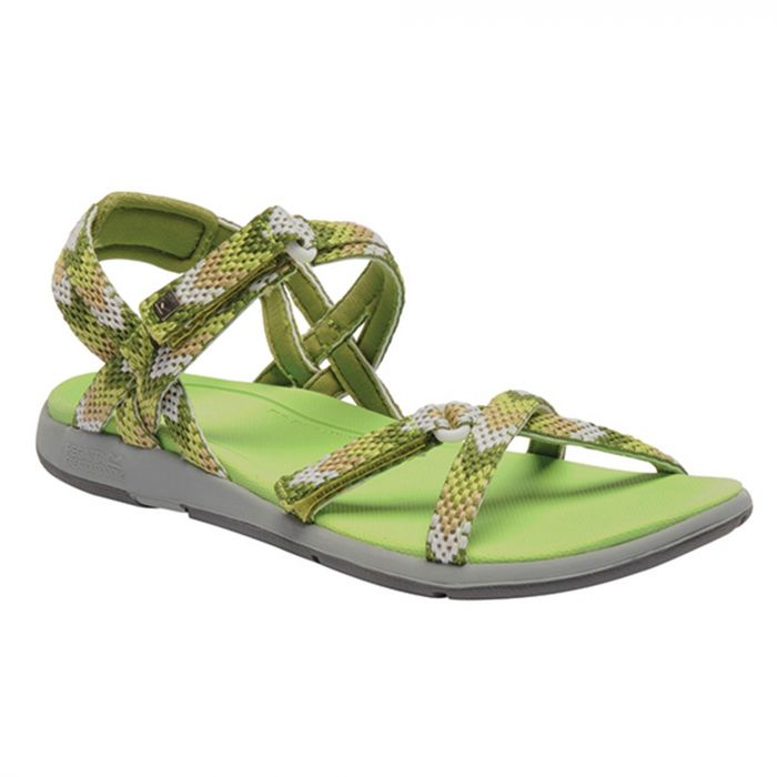 Women's Santa Monica Sandals Lime Moccassin