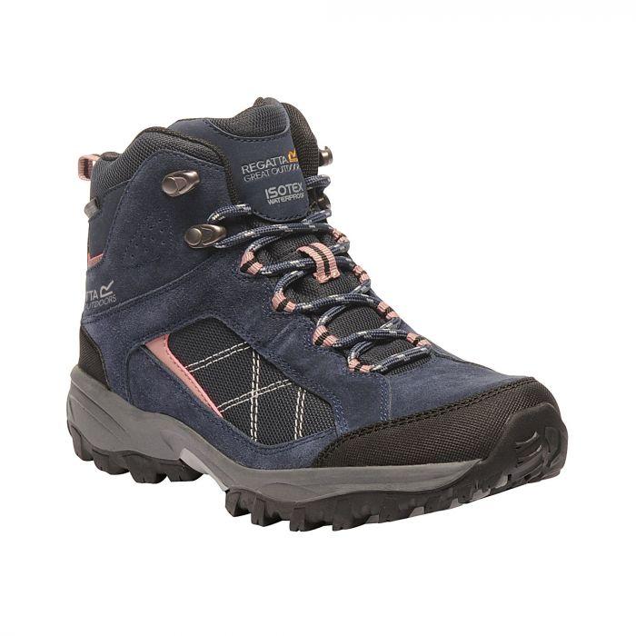 the cheapest wholesale outlet separation shoes Women's Clydebank Mid Walking Boots Navy Ash Rose
