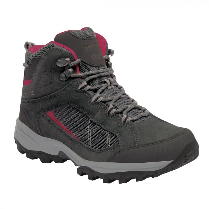 Women's Clydebank Mid Hiking Boots Briar Dark Cerise
