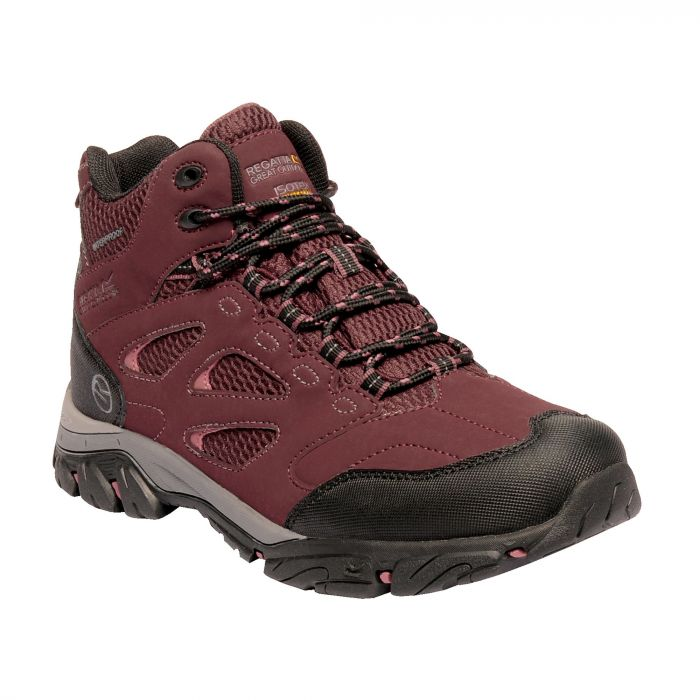 Holcombe IEP Mid Boots Burgundy