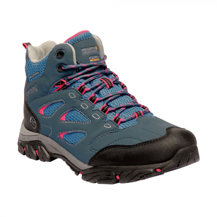 Holcombe IEP Mid Boots Moroccan Blue Duchess