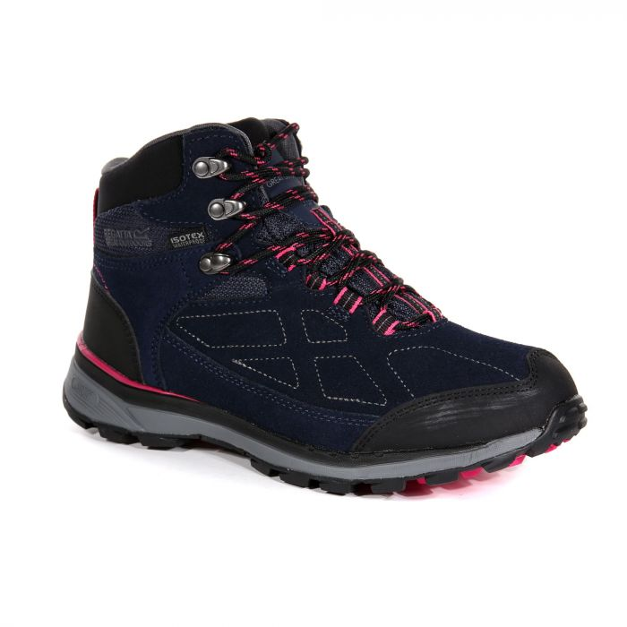 3dea3d44 Women's Samaris Suede Walking Boots Navy Duchess | Regatta | Regatta ...