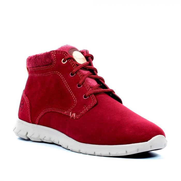 Women's Marine Mid Thermo Boots Burgundy