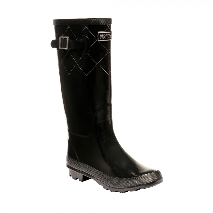 Women's Fairweather II Wellingtons Black Silver