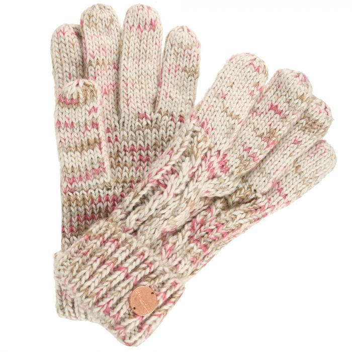Women's Frosty II Knit Gloves LightVanilla