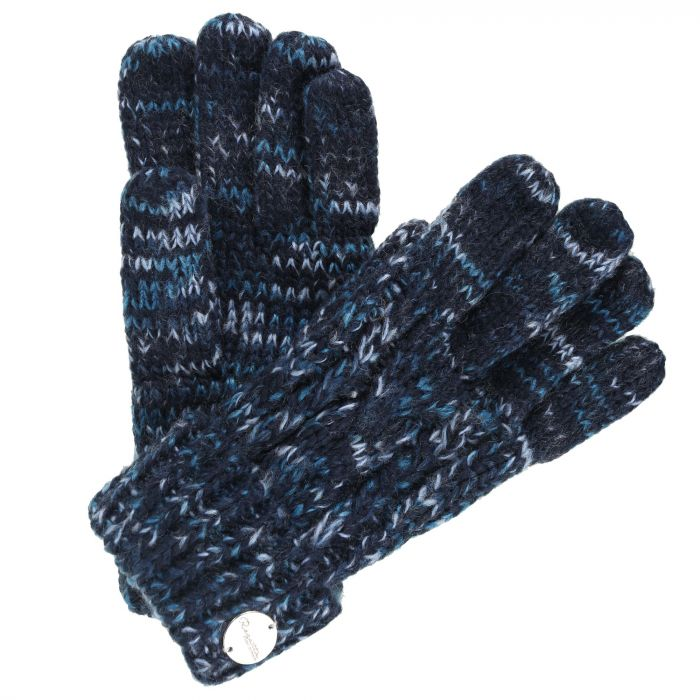 Women's Frosty II Knit Gloves Navy