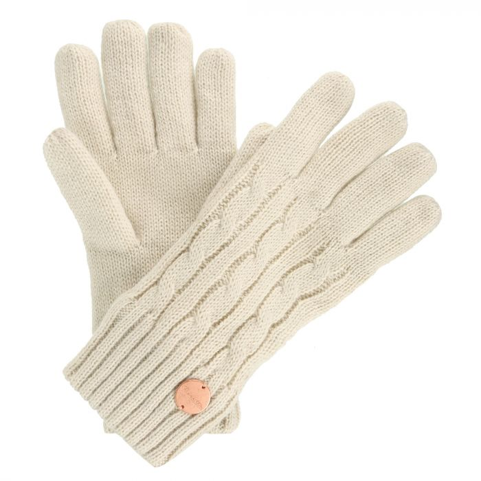 Multimix II Fleece Lined Cable Gloves LightVanilla