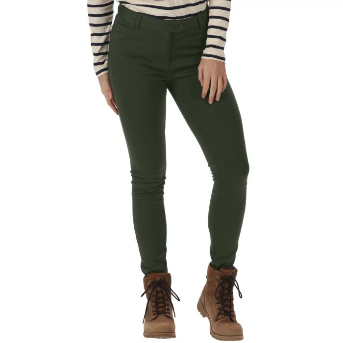 Seren Treggings Dark Khaki