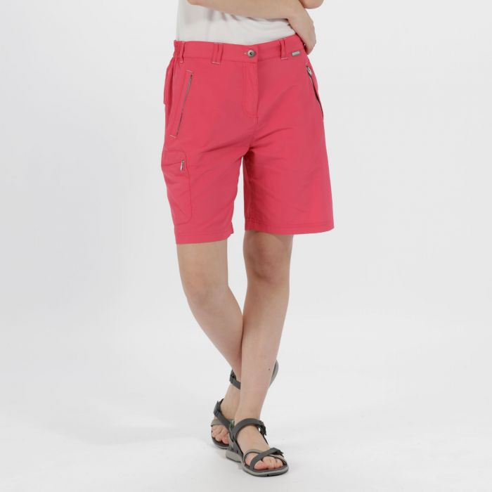 Chaska Multi Pocket Shorts Bright Blush