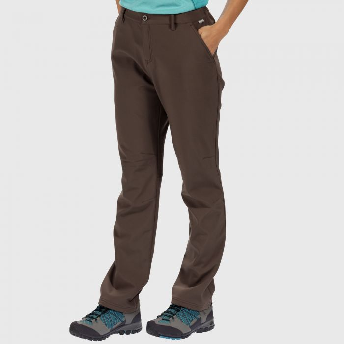 Women's Fenton Softshell Trousers Roasted