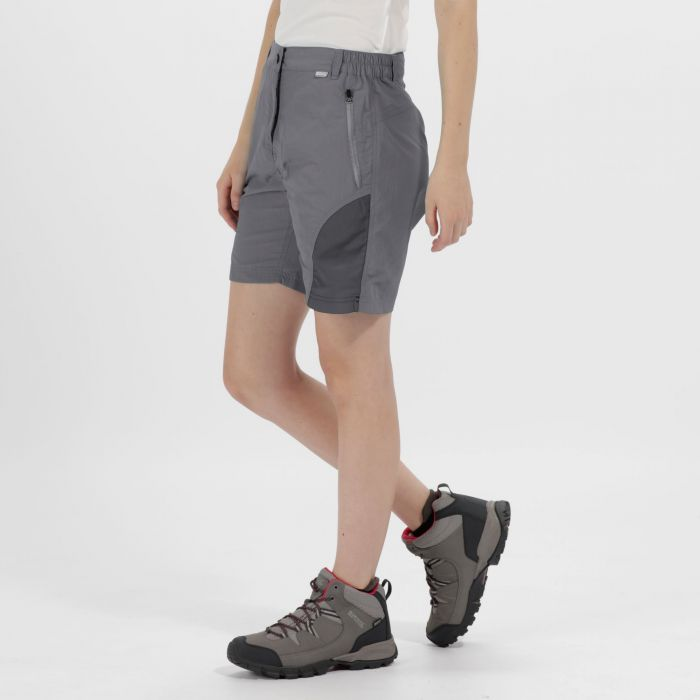 Sungari Multi Pocket Shorts Rock Grey Seal Grey