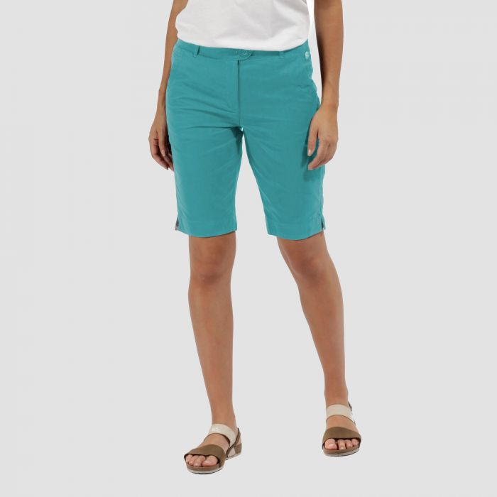 Sophilla II Coolweave Cotton Shorts Jade Green