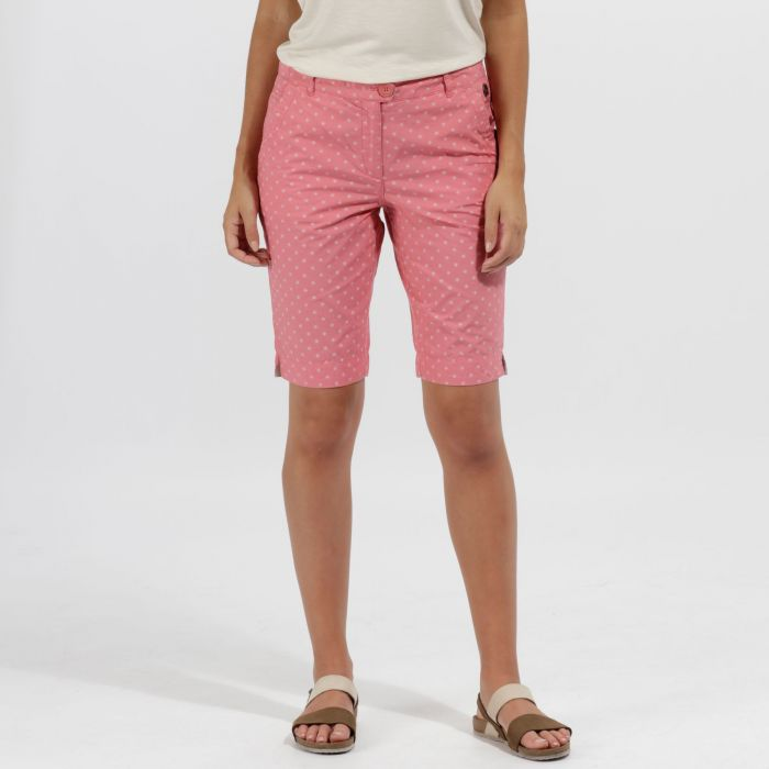 Sophilla II Coolweave Cotton Shorts Desert Rose