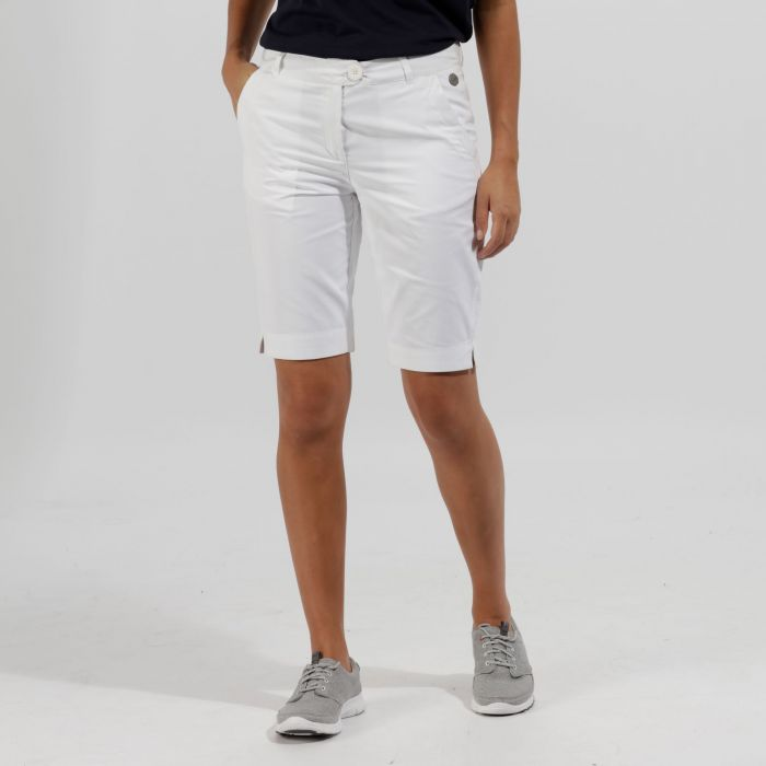 Sophilla II Coolweave Cotton Shorts White