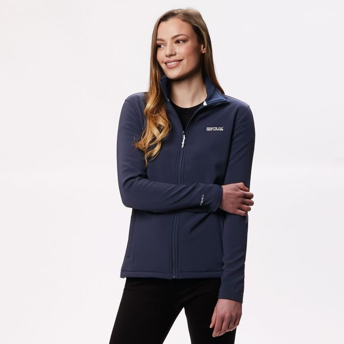 Connie III Funnel Neck Softshell Jacket Navy