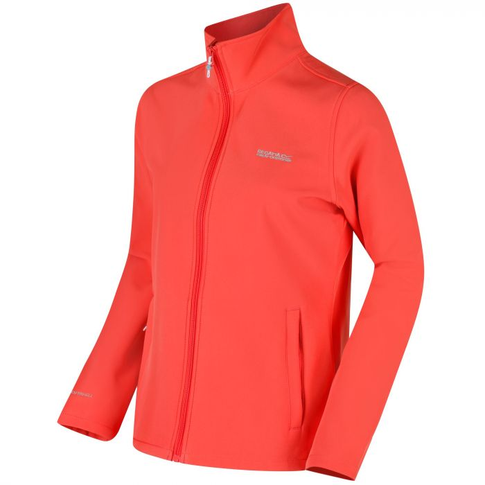 Connie III Funnell Neck Softshell Neon Peach