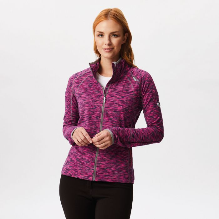 Harty Stretch Softshell Jacket Neon Pink