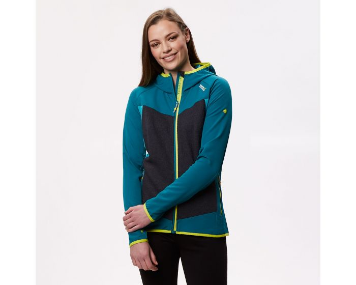 Ladies Regatta Grey SoftShell Hybrid Jacket RRP £32.00