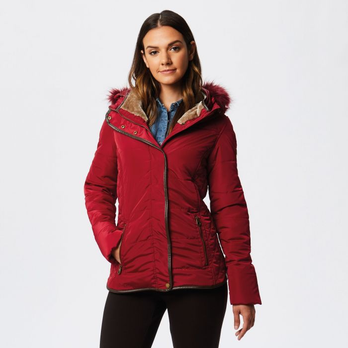 Winika Insulated Jacket Rumba Red