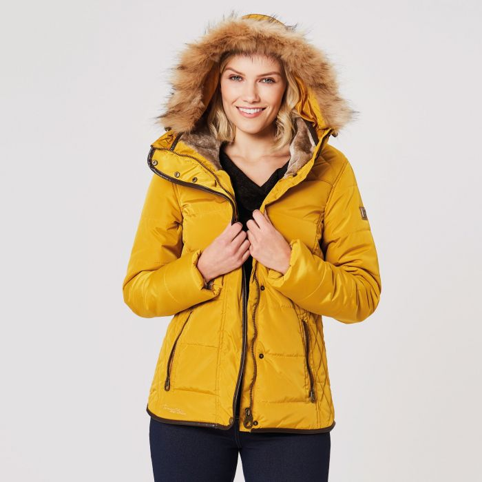 Winika Insulated Jacket Mustard Seed