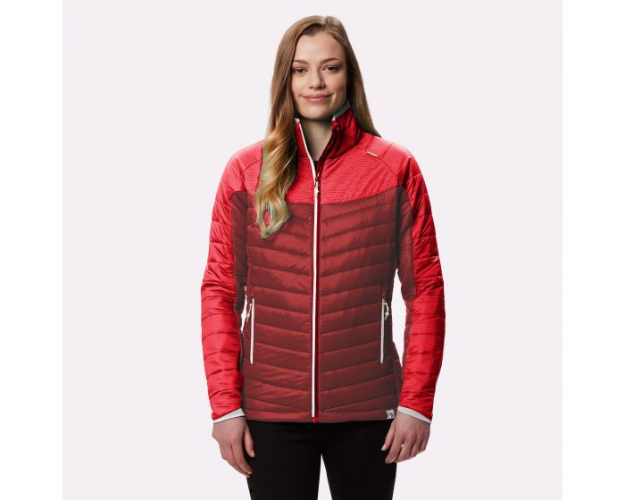 Womens Halton Ii Reflective Jacket Red Alert Tibetan Red