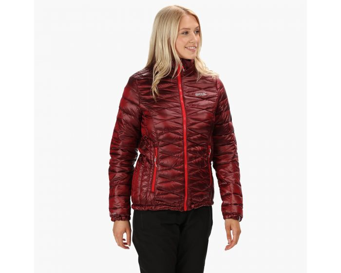 Womens Metallia Atomlight Insulated Jacket Red Alert
