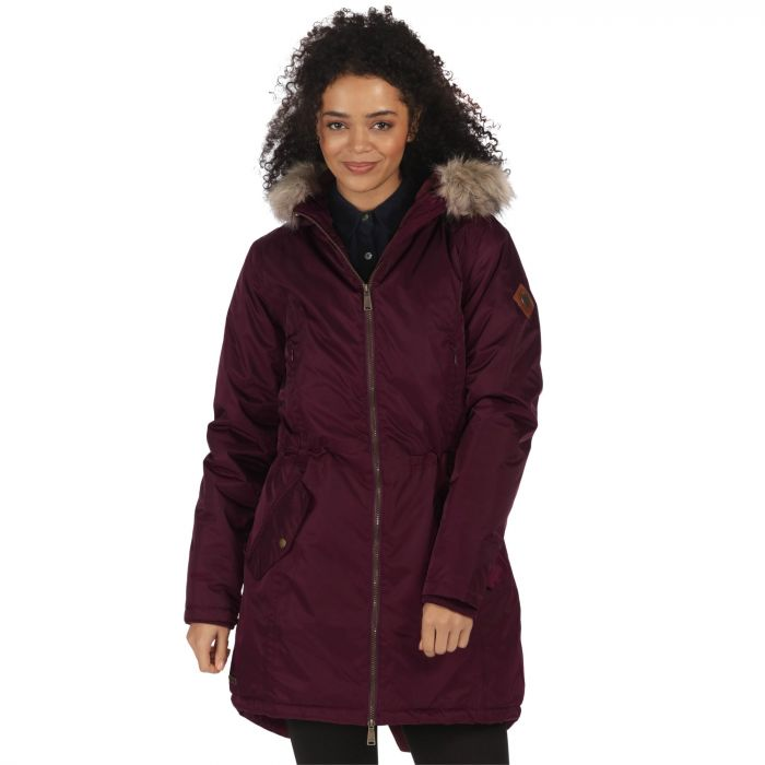 Lucetta Waterproof Insulated Parka Jacket Fig