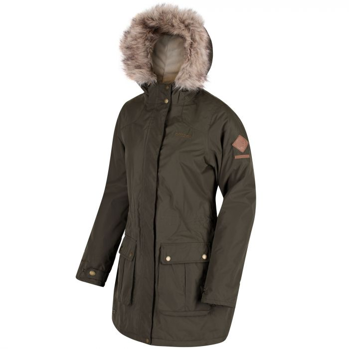 fe537d8ef69 Schima II Breathable Waterproof Insulated Parka Jacket with Faux Fur ...