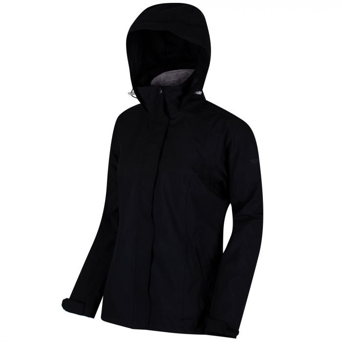 Calyn Stretch Waterproof 3-in-1 Jacket Black Dust