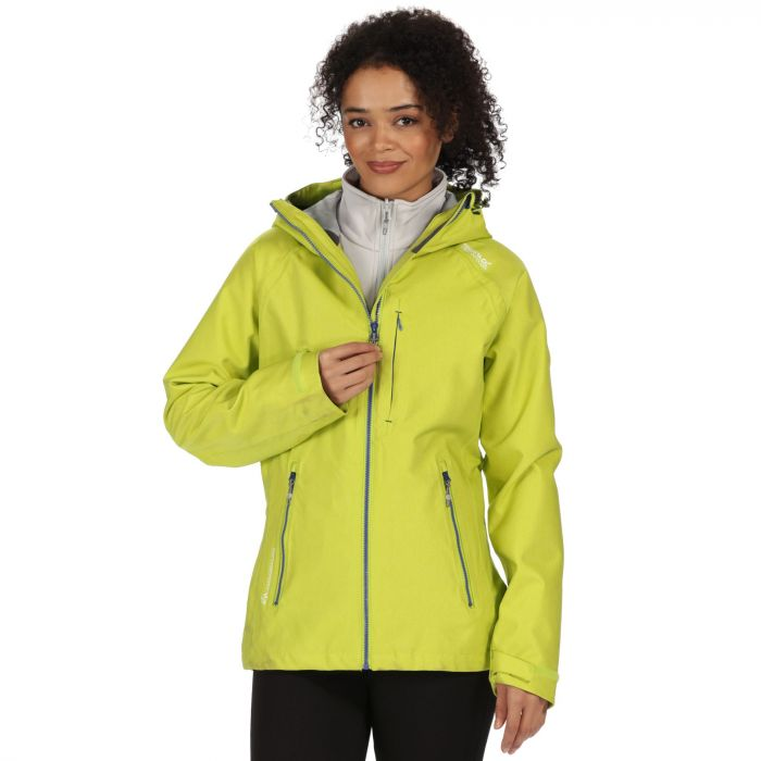 Louisiana III Waterproof 3-in-1 Jacket Lime Zest Light Steel